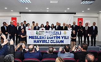 Vali Karahan 2020 Denizli Mesleki Eğitim Yılı açılışına katıldı