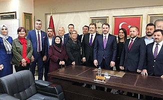 AK Parti İl Başkanı Filiz, Bakan Albayrak'ın ziyaretini değerlendirdi