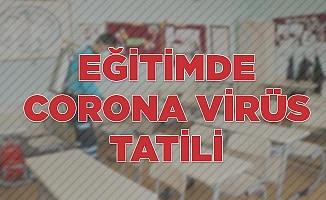 Eğitimde corona virüs tatili