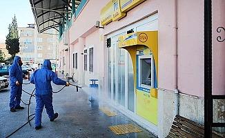 Pamukkale'de corona önlemleri devam ediyor