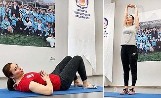 Korona günlerinde Büyükşehir'den online spor hizmeti