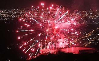 Pamukkale'de 23 Nisan Bayramına muhteşem final