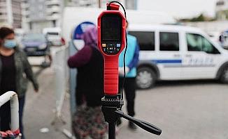 Pamukkale'de pazaryerlerine Isı Ölçerli Kamera önlemi