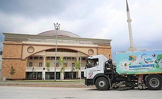 Pamukkale'de camiler Cuma namazına hazırlanıyor
