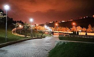 Akvadi Parkı aydınlandı