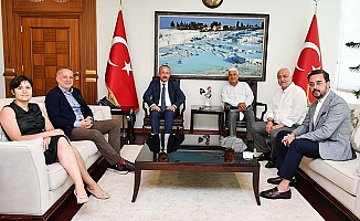 DSO Yönetimi, Vali Atik'i ziyaret etti