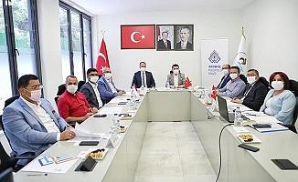 Pamukkale Belediyesi, Akdeniz Belediyeler Birliği Encümen toplantısına ev sahipliği yaptı