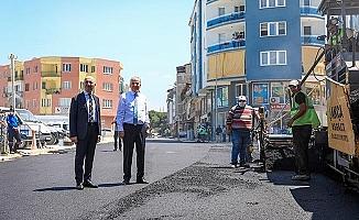 Sarayköy sıcak asfaltla buluşuyor