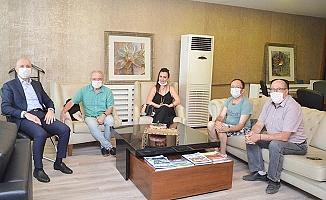 """Aslankara: """"Tüm eserlerimde Sarayköy'ü anlattım"""""""