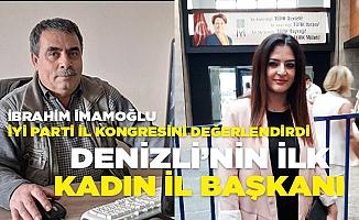 Gazeteci Yazar İmamoğlu, İYİ Parti il Kongresini değerlendirdi