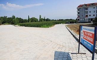 Kale Mahallesinde beton kilit parke taşı çalışmaları tamamlandı