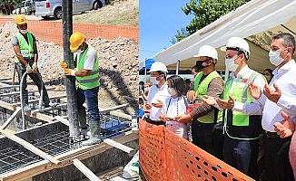 Pamukkale'de Karakurt Kapalı Pazar Yeri temeli atıldı