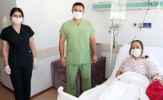 Başarılı operasyonla sağlığına kavuştu