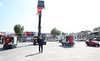 """Başkan Örki: """"Vatandaşlarımıza kendi kaynaklarımızla hizmet götürüyoruz"""""""