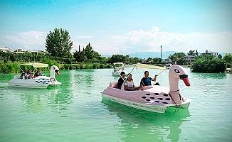Denizlililer Bayramın keyfini Kocaçukur'da yaşadı