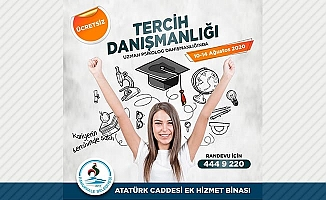 Pamukkale Belediyesi'nden öğrencilere ücretsiz tercih dDesteği