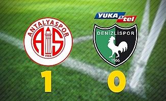 Antalyaspor: 1 - Denizlispor: 0