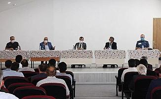 Çameli'de uzaktan eğitim konuşuldu