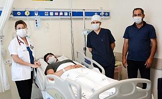 PAÜ Hastanesi Çocuk Kardiyolojide Şemsiye Metodu Tedavisi başladı