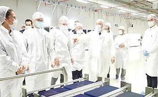 Bakan Varank Parla Solar'da incelemelerde bulundu
