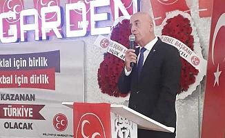 MHP Denizli'de Birtürk yeniden il başkanı