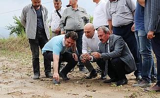Milletvekili Şahin Tin: Afetzede çiftçinin yaraları sarıldı