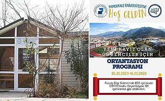 PAÜ'de Oryantasyon Haftası Çevrimiçi Başlıyor