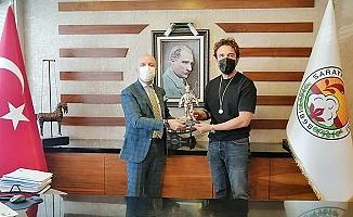 Sarayköylü Gürkan Şef'ten Başkan Özbaş'a ziyaret