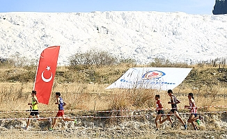Türkiye Kros Şampiyonası beyaz cennet eteklerinde başladı