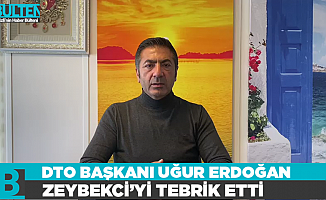 DTO Başkanı Erdoğan Zeybekci'yi tebrik etti
