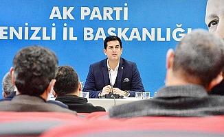 AK Parti'de Güngör ilk toplantısını yaptı