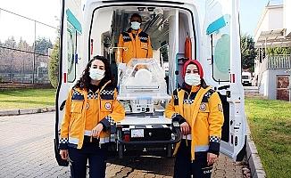 Denizli'ye Yenidoğan ambulansı tahsis edildi