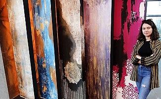 Duvarları Sanatla buluşturan Moda