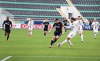 İlk yarı sonucu: Denizlispor: 0 - Ankaragücü: 2