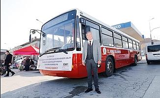 İmamoğlu'dan Honaz'a otobüs hediyesi