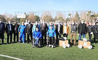 Pamukkale Belediyesi'nden Amatör kulüplere malzeme desteği