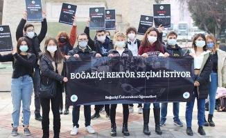 Boğaziçi Üniversitesi'nin rektör protestosuna Denizli'den destek