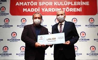 Büyükşehir'den 117 amatör spor kulübüne 1 Milyon 200 Bin TL destek