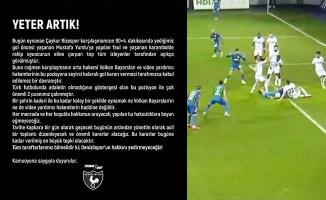 Denizlispor'dan fotoğraflı gol tepkisi