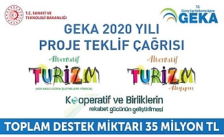 GEKA'nın 2020 yılı Proje Teklif Çağrısı'na 192 proje başvurusu yapıldı