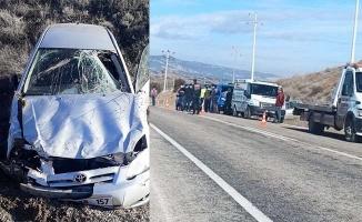 Hastaneye giden anne ve oğlu otomobil ile kaza yaptı: 1 ölü