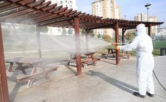 Pamukkale Belediyesi kısıtlamalarda da hizmetlerini sürdürdü