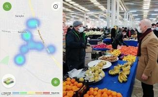 Sarayköy'de harita maviye döndü, Başkan Özbaş teşekkür etti