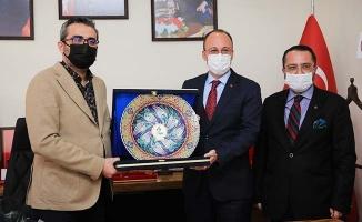 Başkan Örki'den MHP'ye ziyaret