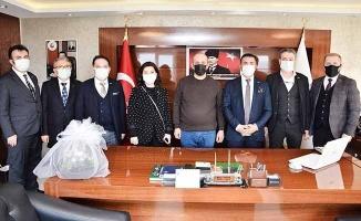 DTO Başkanı Erdoğan ekibiyle birlikte Acıpayam'a çıkartma yaptı