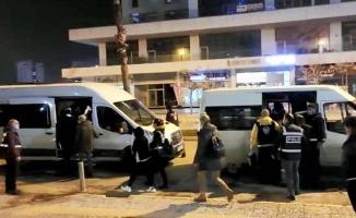 Fuhuş operasyonunda apart yetkilisi ve 8 kişiye 17 bin lira ceza kesildi