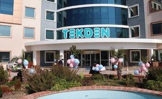 Onkoloji hastalarına moral olsun diye hastane balonlarla süslendi