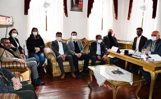 Başkan Şevik, AK Parti ve MHP heyetini ağırladı