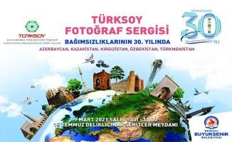 Büyükşehir'den Türk Cumhuriyetleri 30. Yıl Bağımsızlık Sergisi