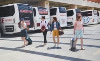Denizli'de şehirlerarası ulaşımda yolcu sınırlaması kalktı